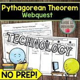 The Pythagorean Theorem Webquest MATH DISTANCE LEARNING