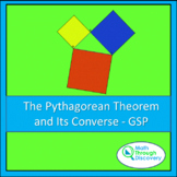 Geometry - The Pythagorean Theorem and its Converse - GSP