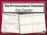 The Pythagorean theorem and its Converse with real-life word problems.