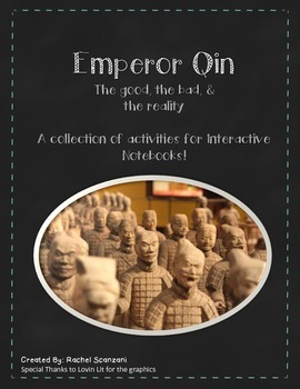 The Qin Dynasty - for Interactive Notebooks!