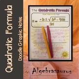 The Quadratic Formula Doodle Graphic Organizer