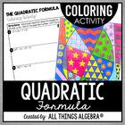 Quadratic Formula Coloring Activity