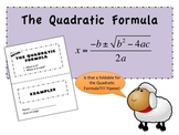The Quadratic Formula Foldable PowerPoint for Interactive Notebooks