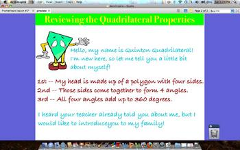 The Quadrilateral Family by Katie Hill