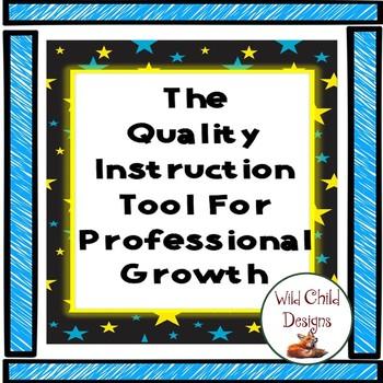 The Quality Instruction Tool: Marzano Strategies