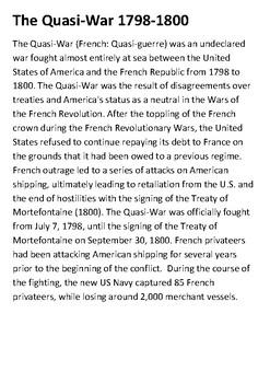 The Quasi War Handout