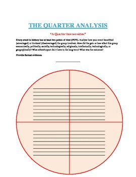 The Quater Analysis