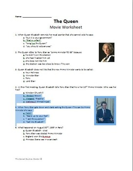 The Queen (2006) Movie Guide