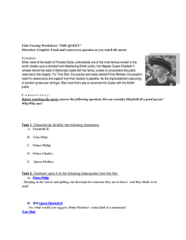 """""""The Queen"""" Movie Guide and Lessons"""