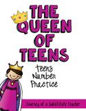 The Queen of Teens: Teen Numbers Pack