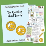 The Question about Taxes - Kidmin Lesson & Bible craft