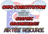 Ohio Constitution Graphic Organizer - AIR Test Resource!
