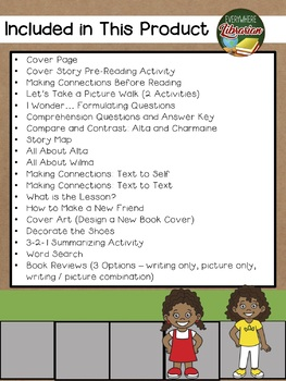 The Quickest Kid in Clarksville by Miller 22 Book Extension Activities NO PREP