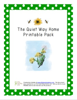 The Quiet Way Home Printable Pack
