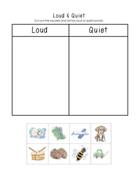 The Quiet Way Home - Sorting Sounds