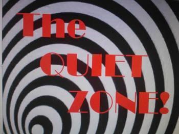 The Quiet Zone Hallway Posters