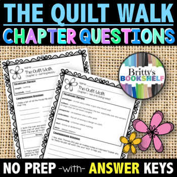 The Quilt Walk by Sandra Dallas Literature Unit (A Novel Study)