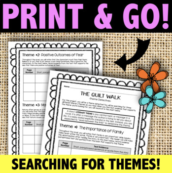 The Quilt Walk: Literary Theme Detectives - A Novel Project