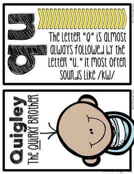The Quints - QU and WH digraphs