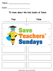 The Qur'an Lesson plan, PowerPoint and Worksheets (2nd to