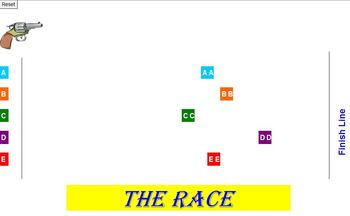 The RACE Review Activity - School License  A Pinkley Product
