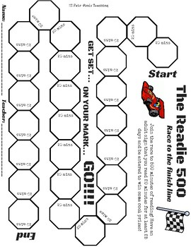 The READie 500 - Reading Challenge