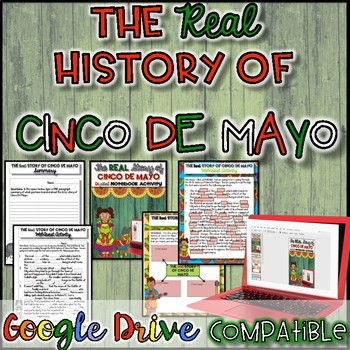 The REAL History of Cinco De Mayo {Google Drive}