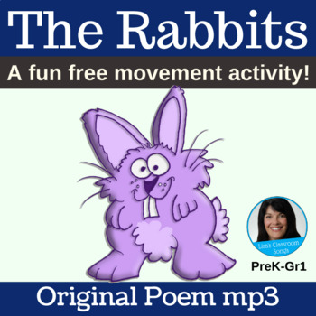 "Classroom Free Movement Poem | ""The Rabbits"" by Lisa Gillam 