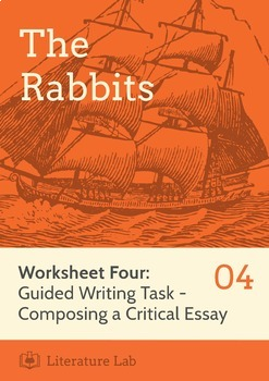 The Rabbits - Guided Writing Task Worksheet