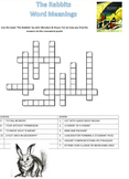 The Rabbits by John Marsden S.Tan Revised worksheets crosswords searches answers