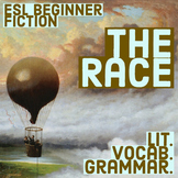 The Race - ESL Beginner Fiction at 2 levels - Vocab. Gramm