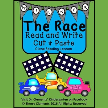 The Race Read and Write (Cut and Paste) Close Reading