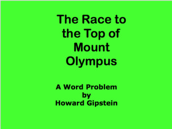 The Race to the Top of Mount Olympus