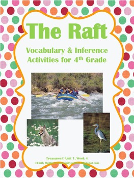 The Raft Vocabulary & Spelling Activities