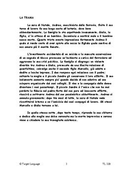 The Railroad Man-Italian Study Guide