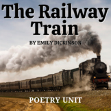 Railway Train by Emily Dickinson Activities, Quiz