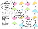 The Rain Came Down: A Language through Literacy Unit