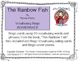 The Rainbow Fish - 20 square BOARDMAKER Bingo