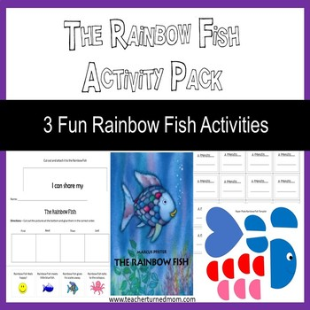 The Rainbow Fish Activity Pack (Lower Elementary -  Print & Go)