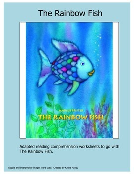 The Rainbow Fish Adapted Comprehension