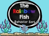 The Rainbow Fish {Behavior Sort and Writing Activity}