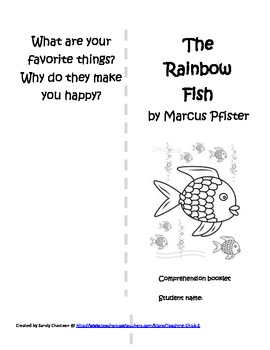 The Rainbow Fish Book Activities 14 pages