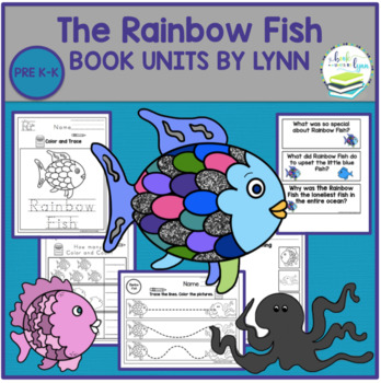 Color By Number Rainbow Fish Worksheets Teaching Resources