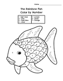 The Rainbow Fish Color by Number
