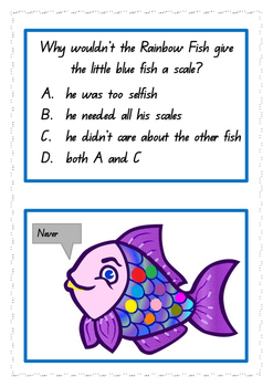 The Rainbow Fish- Comprehension Exercise