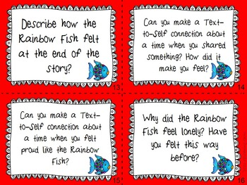 The Rainbow Fish & Higher Order Thinking Skills