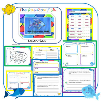 The Rainbow Fish Lesson Plan 2nd Grade Language Arts By