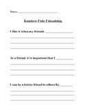 The Rainbow Fish Lessons, Activity Ideas, Handout: Friendship