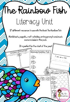 The Rainbow Fish - Literacy Unit