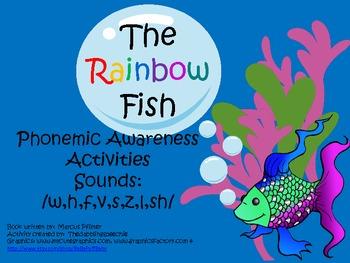 The Rainbow Fish Phonemic Awareness Pack